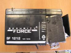Тестирование аккумулятора Security Force SF1212.