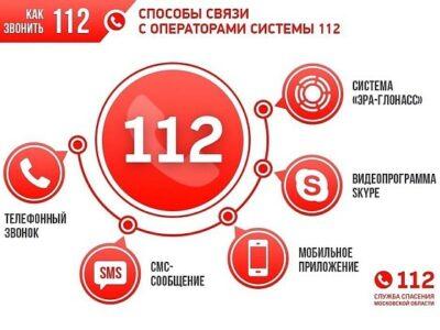 Система-112 Московской области переведена в режим усиленной работы